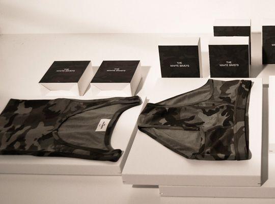 Nick Wooster x The White Briefs camo underwear