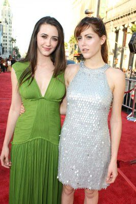 Madeline Zima and Yvonne Zima at an event for The X Files: I Want to Believe (2008)