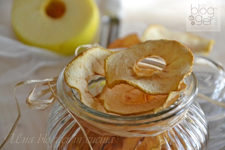 Chips di mela, ricetta snack light