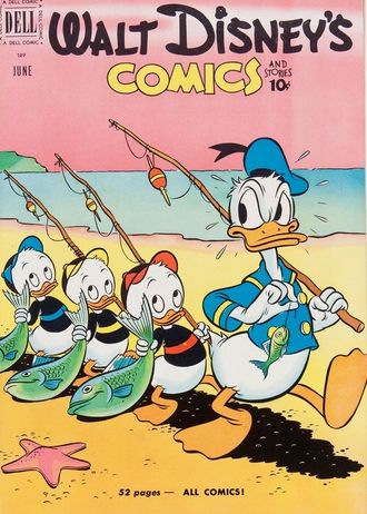 Loved all the Disney comic books!  Donald Duck, Mickey Mouse, Chip and Dale, etc.