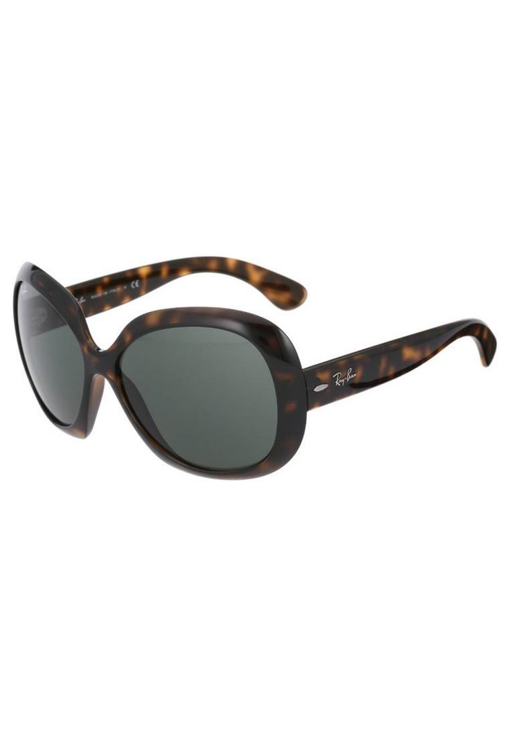 "Ray-Ban. JACKIE OHH - Sunglasses - braun. UV protection:yes. lenses:coated glasses. Frame style:butterfly. Bridge width:0.5 "" (Size 60). Total width:5.5 "" (Size 60). Glasses case:hard case. Arm length:5.5 "" (Size 60)"