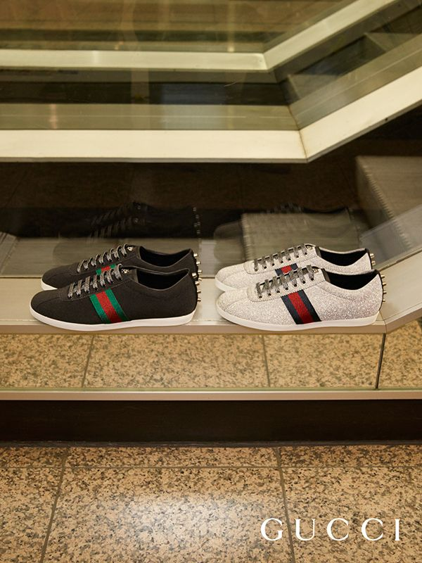 gucci shoes for men high tops 2016. the new men\u0027s web sneakers in a sparkling fabric, featuring our signature detail on gucci shoes for men high tops 2016 n