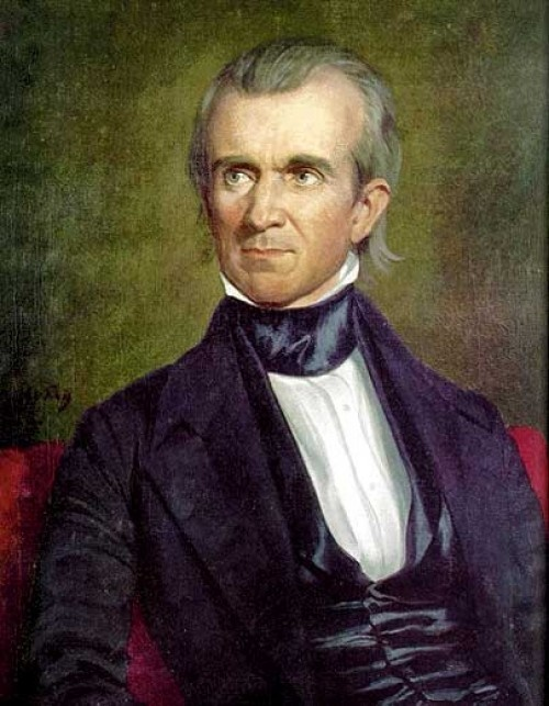 Image result for president james polk signs legislation making texas the 28th state of the union