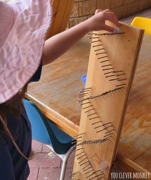 DIY Marble Run - make your own wooden marble run! Irresistible to children and adults alike   you clever monkey