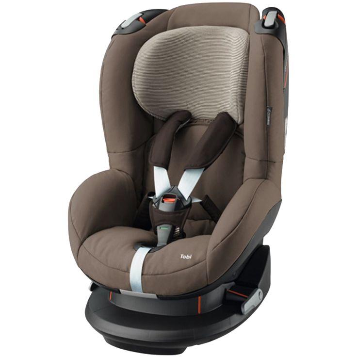 Maxi Cosi Autostoeltje Tobi Earth Brown  Description: De Maxi-Cosi Tobi Earth Brown is een comfortabele autostoel uit groep 1 en geschikt voor kinderen van 9 maanden tot 4 jaar (9 tot 18 kilogram). Door de speciaal ontwikkelde basis van de Maxi-Cosi Tobi zit je kind hoger in de auto zodat het beter naar buiten kan kijken en volop afleiding heeft. Wil je kind slapen dan zet je het stoeltje gemakkelijk in één van de vijf comfortabele slaapstanden. Het Tobi autostoeltje is voorzien van een…