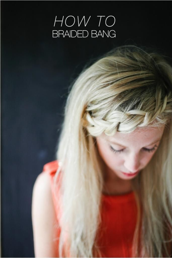 25+ best ideas about Braided bangs tutorial on Pinterest ...