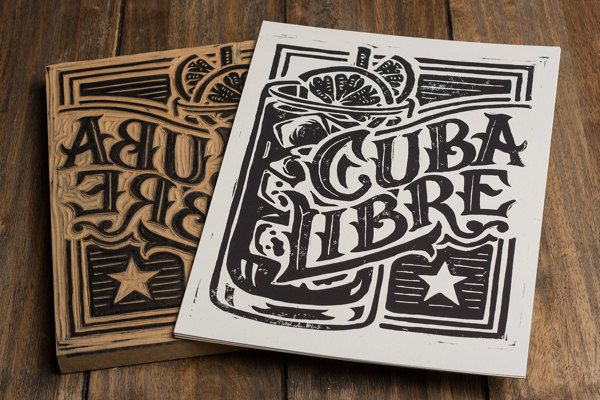 Block Printing A long time ago we learned our... • typostrate - the typography and design blog