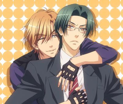 rei and shougo - love stage my secret ship