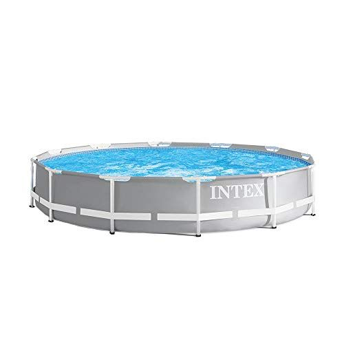 Intex 12 Foot X 30 Inches Durable Prism Steel Frame Above Https Smile Amazon Com Dp B07h14n63p Above Ground Swimming Pools Easy Set Pools In Ground Pools