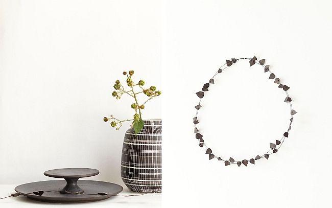 Herbststyling in schwarz und weiß   Fotos: Sabine Wittig