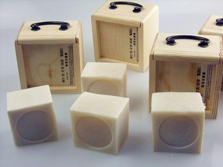 handmade soap and packaging - what an adorable idea!!!