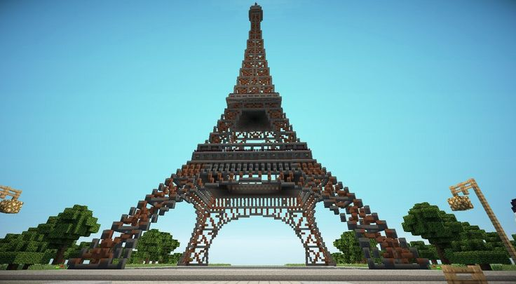 Minecraft Paris Eiffel Tower seeds, Minecraft Paris Eiffel Tower images, Minecraft Paris Eiffel Tower pictures, Minecraft Paris Eiffel Tower...