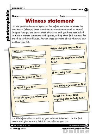 8 best Forces images on Pinterest Activities for kids, Mock up - witness statement template