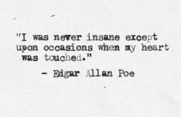 I was never insane