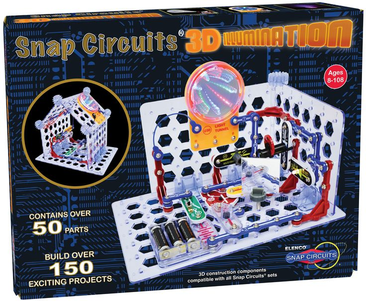 We are on a roll!  Today's Parent (Canada's #1 media source for all things related to parenting) has extended congratulations with the selection Snap Circuits 3D Illumination (our newest kit!) as a 2016 Top Toy!  See the entire feature here:   http://www.todaysparent.com/kids/top-toys/#gallery/wow-toys/10
