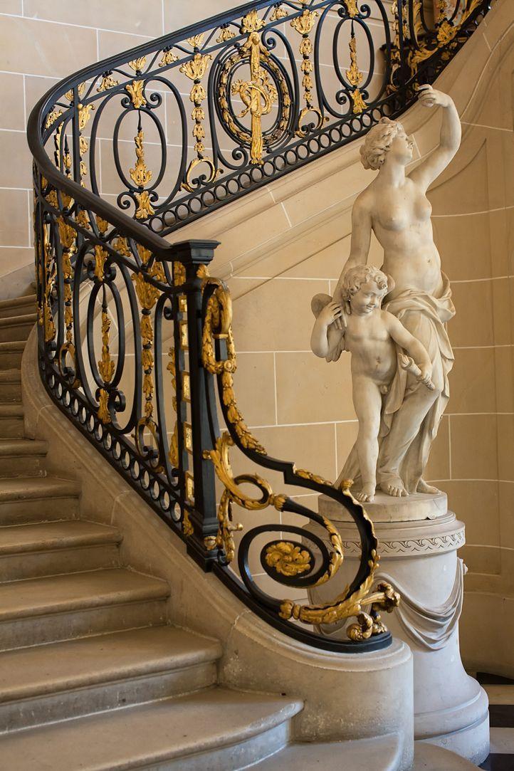 GRAND STAIRCASE ~ Musée Nissim de Camondo, Paris
