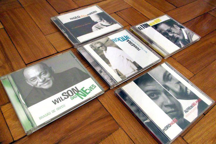 5 projetos de CDs de Samba para a gravadora Quelé. Cada CD traz uma personalidade do samba, a idéia era que cada um tivesse uma cor de destaque que o representasse em todo o projeto, no livreto, no rótulo, no fundo de estojo. As fotos são em preto e branco para contrastar com a cor […]