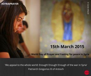Syria Prayer