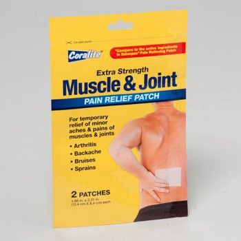 PAIN RELIEF PATCH 2CT MUSCLE AND JOINT #90155