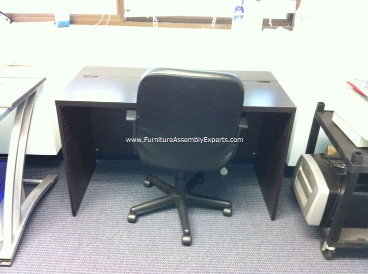 Ikea Besta Office Desk Assembled In Baltimore County MD By Furniture Assembly Experts LLC