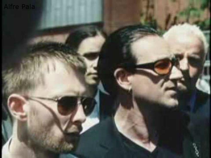 Thom Yorke #Radiohead & Bono #U2 - Jubilee 2000 Coalition