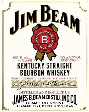 Jim Beam Kentucky Straight #Bourbon #Whiskey #Review