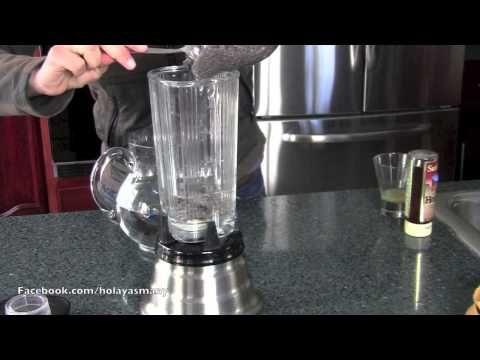 Cómo preparar agua de Chía para adelgazar - YouTube