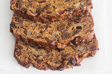 Pumpkin fruit loaf (refined sugar free) – Recipes – Bite