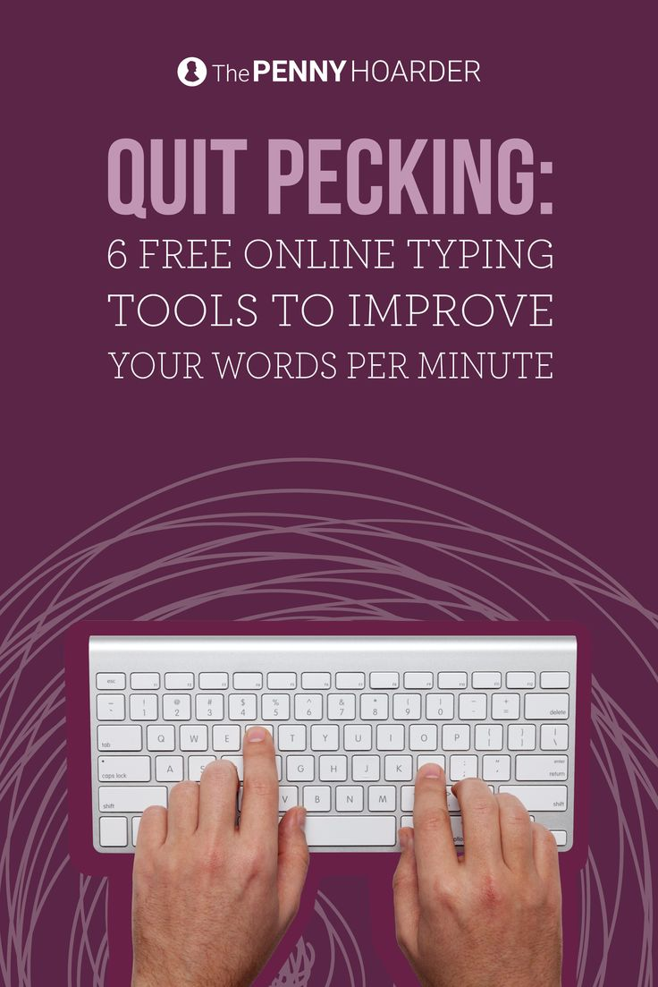 Want to snag a work-from-home job? Many of them require typing skills. Check out these six online resources that'll help you learn how to type faster.  @thepennyhoarder