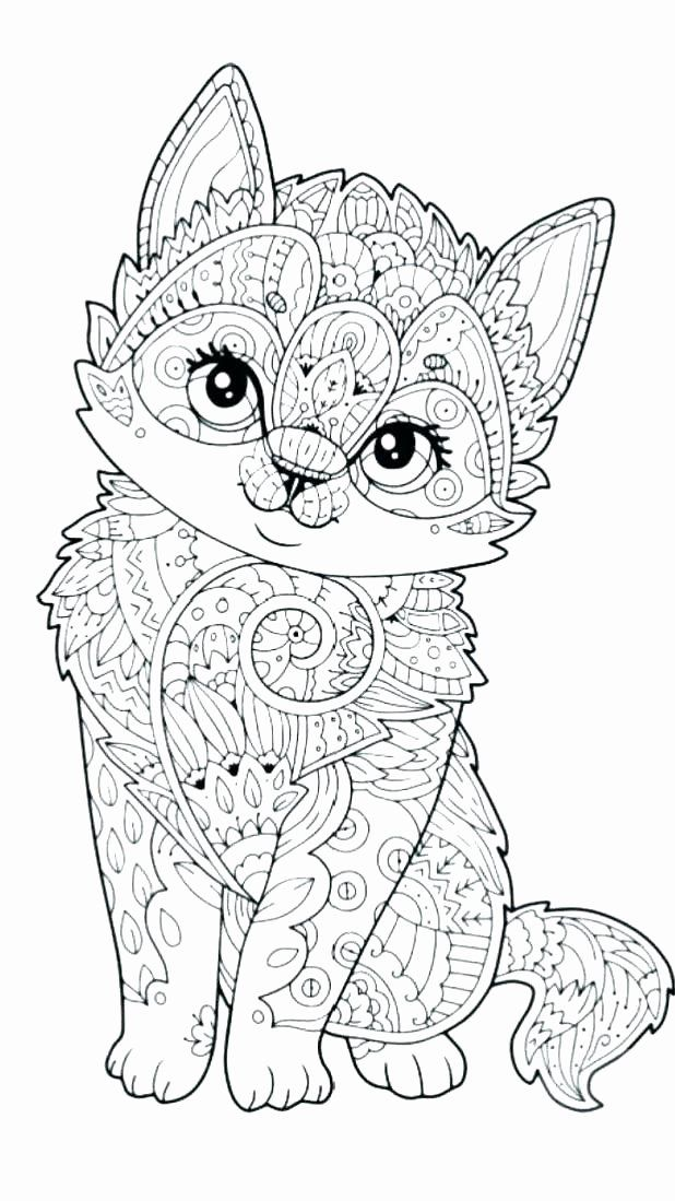 Difficult Coloring Pages Of Animals Fresh Cute Animal Coloring Pages Hard Cat Coloring Page Owl Coloring Pages Cartoon Coloring Pages