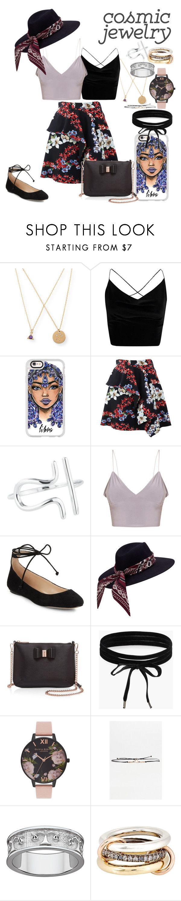 """Constellations (Libra)"" by msmariesales ❤ liked on Polyvore featuring Aéropostale, Boohoo, Casetify, MSGM, Rock 'N Rose, Karl Lagerfeld, Ted Baker, Olivia Burton and SPINELLI KILCOLLIN"