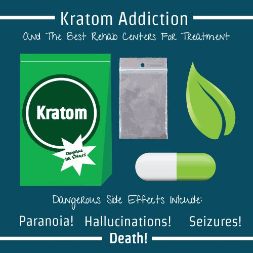 Kratom is a super strong form of caffeine and can result in serious side effects include Paranoia, Hallucinations, Seizures and Death. We can help you find the best #addiction treatment options