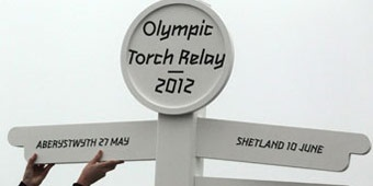All about the London 2012 Olympic Torch Relay