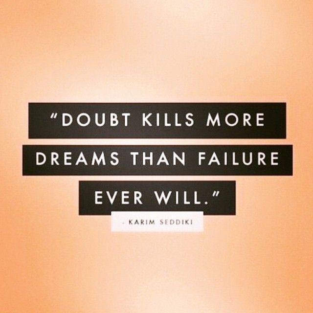 Never doubt yourself. Always believe! #motivation #determination #believe