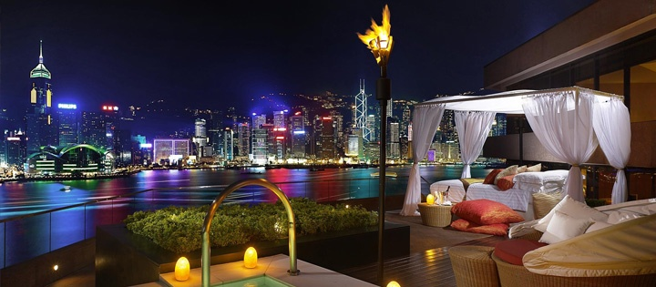 The Terrace Suite, InterContinental, Hong Kong #luxury #vacation #luxuryhotels