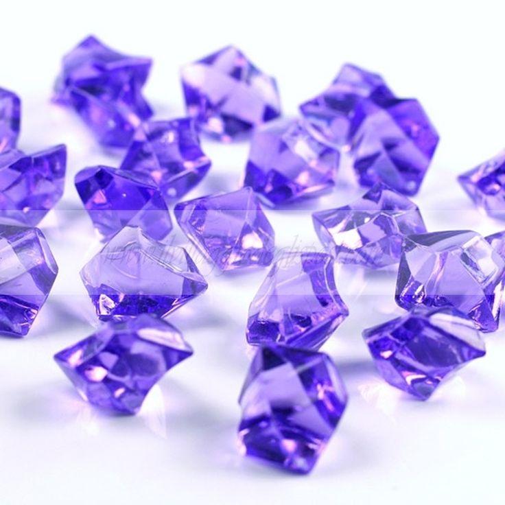 Cristalli di ghiaccio viola/ Purple crystals. Disponibili su http://www.ilvillaggiodeglisposi.com/