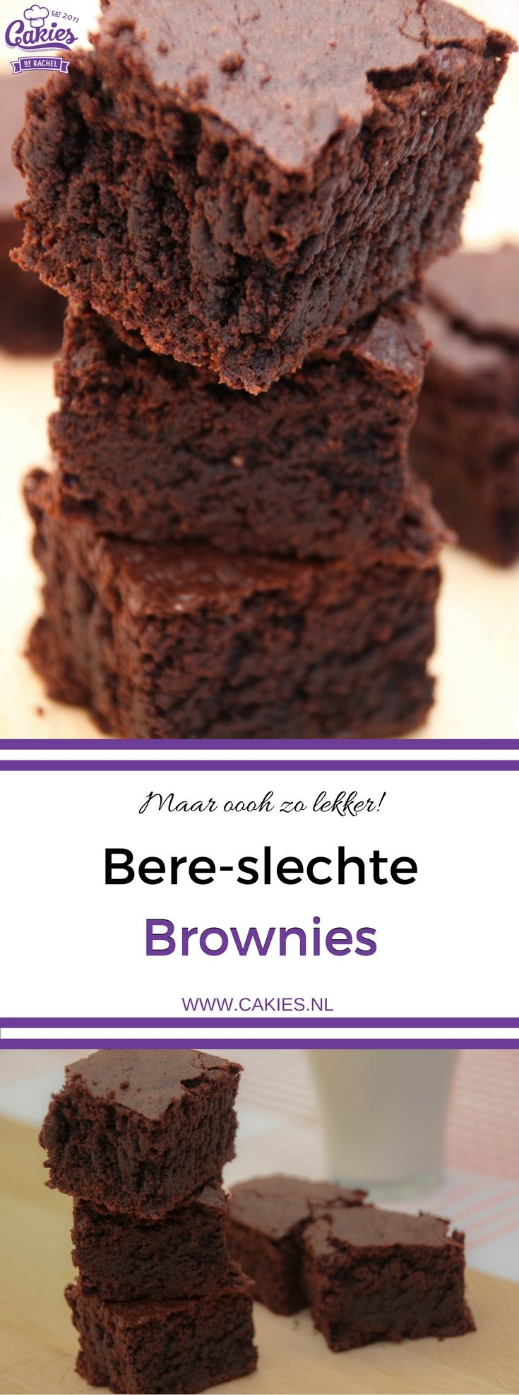 Een heerlijk en super makkelijk Brownies recept. Deze brownies zijn een hit op elk feestje en mijn meest gevraagde brownies recept :).
