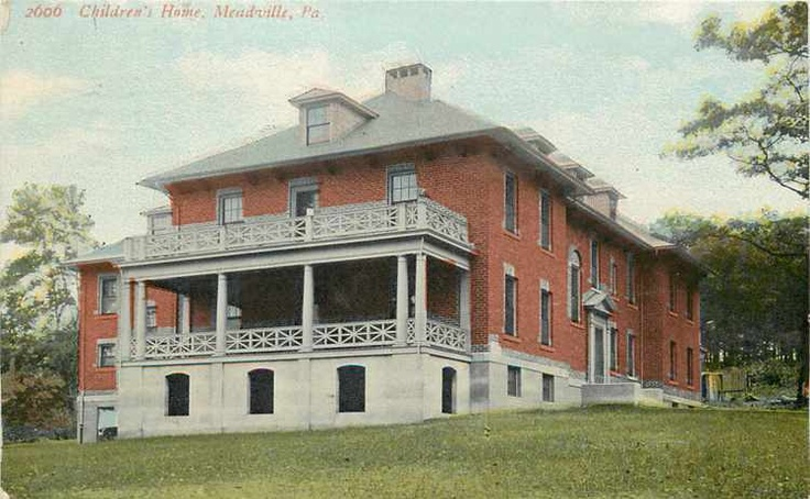 Meadville pennsylvania orphan childrens home 1911