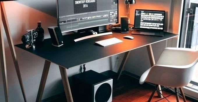 Modern Office Organization Desk Set Office Desk Layout Ideas