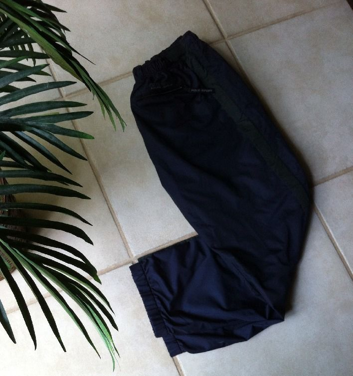Polo Sport Ralph Lauren Womens Pants Size S  Warm Ups Blue Lined Run Sports Gym #polosportralphlauren #CasualPants