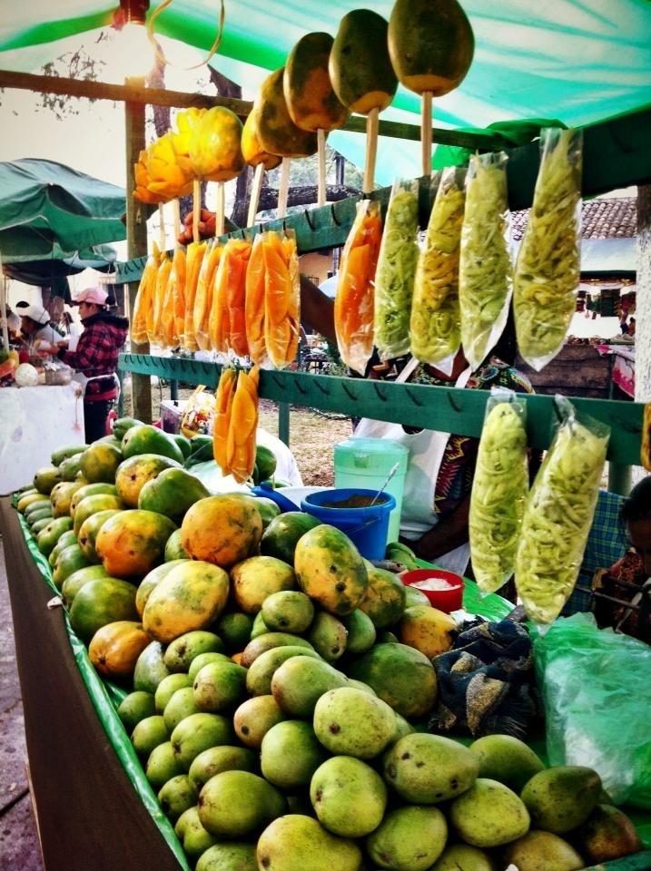 Fruit stand, Guatemala