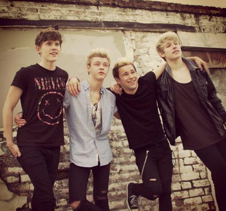 Levi, Nate, Austin and Drew