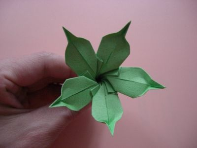 219 best origami flowers images on pinterest origami flowers calice mightylinksfo Gallery
