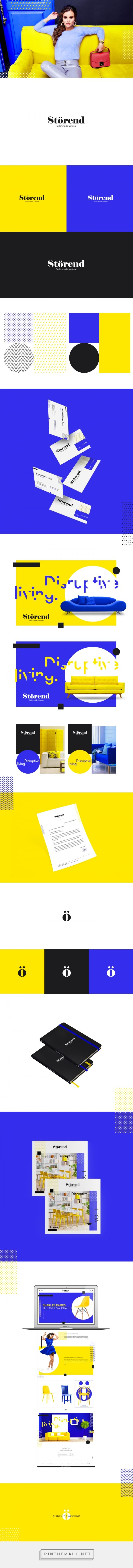 Storend Branding on Behance - created via https://pinthemall.net