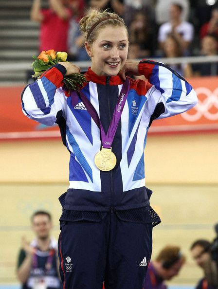 Laura Trott Photos - Laura Trott of Great Britain wins the gold medal in the Omnium event in track cycling at the Velodrome during the summer Olympic…