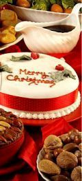 Traditional Christmas Cake of Sri-Lanka, must try a remake as i lost my adapted eggless recipe :/ cashew marzipan too...