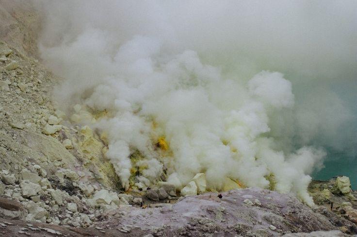 smoke mountain yellow rock rock Photo - Visual Hunt