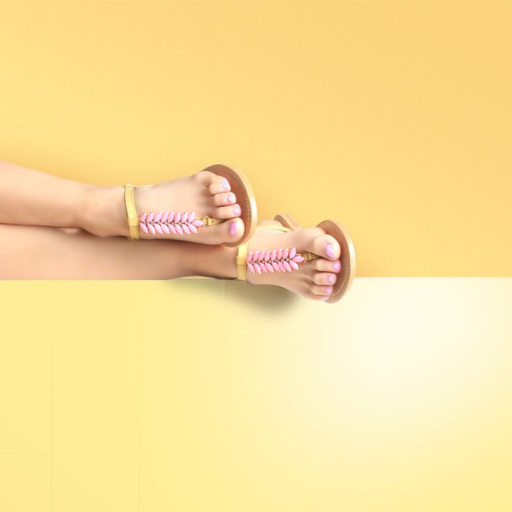 Artemide Yellow Sandal. #pastel #summersandals #jewelsandals #ss2015