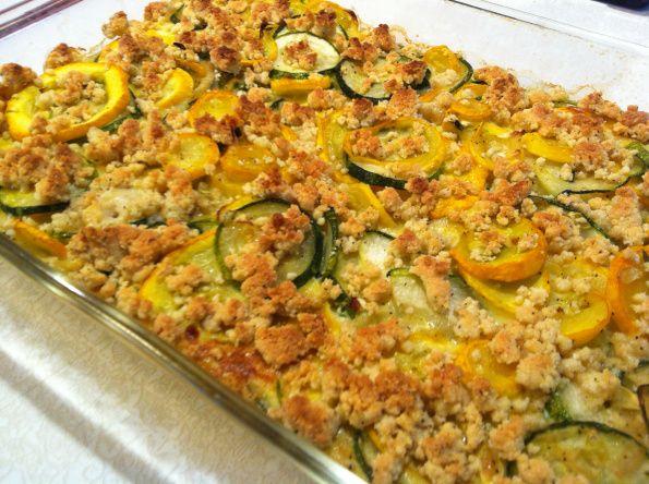 Paleo Zucchini and Squash Casserole Paleo Zucchini Frittata #food #paleo #glutenfree