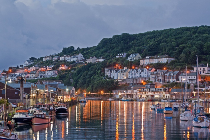 Looe, home for many years and still in Mum's heart